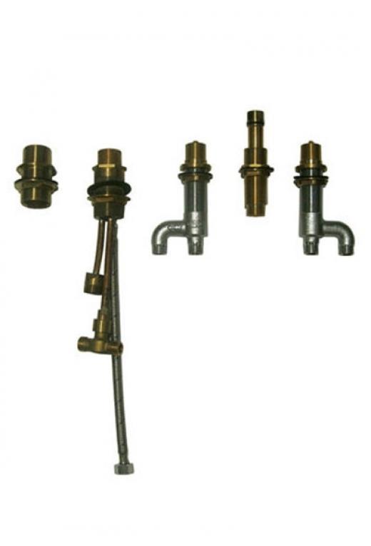 Guinevere Deck-Mount Bath Faucet - Valve Only