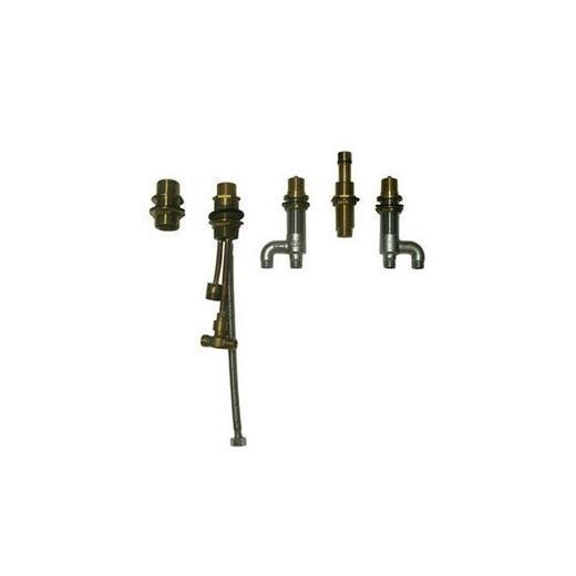 Deck-Mount Bath Faucet with Lever Handles TB7FR