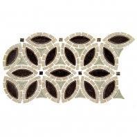 Tile Tranquil Flower Ancient Market TS962