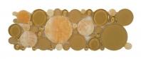 Tile Bubble Listello Butterscotch B500
