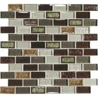 Crystal Shores Hazel Harbor 2 x 1 Brick-Joint Mosaic CS94