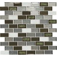 Crystal Shores Emerald Isle 2 x 1 Brick-Joint Mosaic CS96