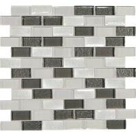 Crystal Shores Diamond Delta 2 x 1 Brick-Joint Mosaic CS93