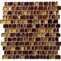 Jewel Tide Amber Wave 12 x 12 Mosaic JT05