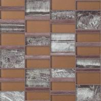 Tiger Eye Bali Bronze 3'' x Random Block Mosaic TE30