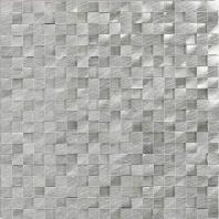 Structure Steel 1/2 x 1/2 3D Cube Mosaic ST70