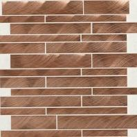 Structure Steel Copper 12 x 12 Interlocking Mosaic ST71