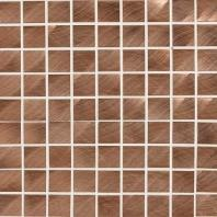 Structure Steel Copper 1 x 1 Mosaic ST71