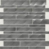 Structure Steel Gunmetal 12 x 12 Interlocking Mosaic ST72