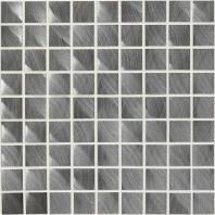 Structure Steel Gunmetal 1 x 1 Mosaic ST72