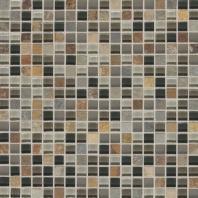 Slate Radiance Flint 5/8 x 5/8 Mesh-mounted Mosaic Blend SA55