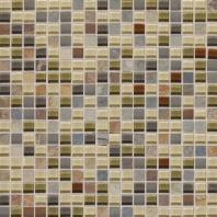 Slate Radiance Cactus 5/8 x 5/8 Mesh-mounted Mosaic Blend SA57