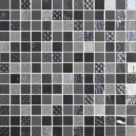 Uptown Glass Metro Gray 1 x 1 Metro & Exotic Mosaic UP08