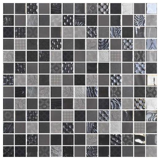 uptown glass metro gray 1 x 1 metro u0026 exotic mosaic up08