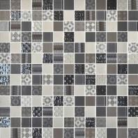 Uptown Glass Metro Taupe 1 x 1 Metro & Exotic Mosaic UP09