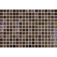 Uptown Glass Pearl Brown 1 x 1 Pearl Mosaic UP14