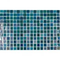 Uptown Glass Pearl Blue 1 x 1 Pearl Mosaic UP15