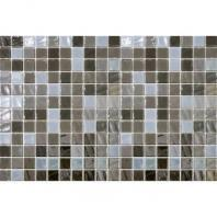 Uptown Glass Pearl Taupe 1 x 1 Pearl Mosaic UP16