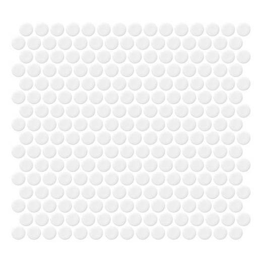 Retro Rounds Bold White Gloss RR01