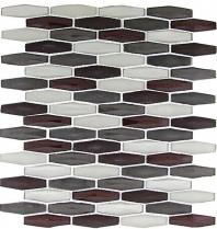 Tile Modern Pyramids Dark Heather MPS232