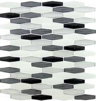 Tile Modern Pyramids Metro Grey MPS236
