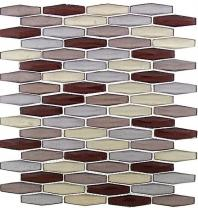 Tile Modern Pyramids Early Russet MPS238