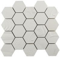 Carnival Hexagon Series White Carousel CRVL544