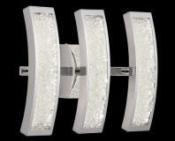 Elan Crushed Ice 3-Light Vanity Light Model 83508