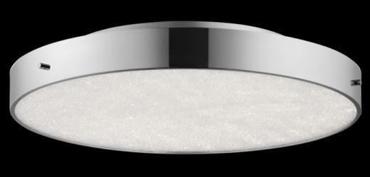 Elan Crystal Moon Ceiling Flushmount Model 83589