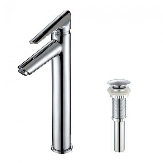 Buy Kraus Decus Single Lever Vessel Bathroom Faucet With Mating...