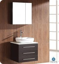 """Modella 24"""" Bathroom Vanity Set With Medicine Cabinet FVN6185ES"""