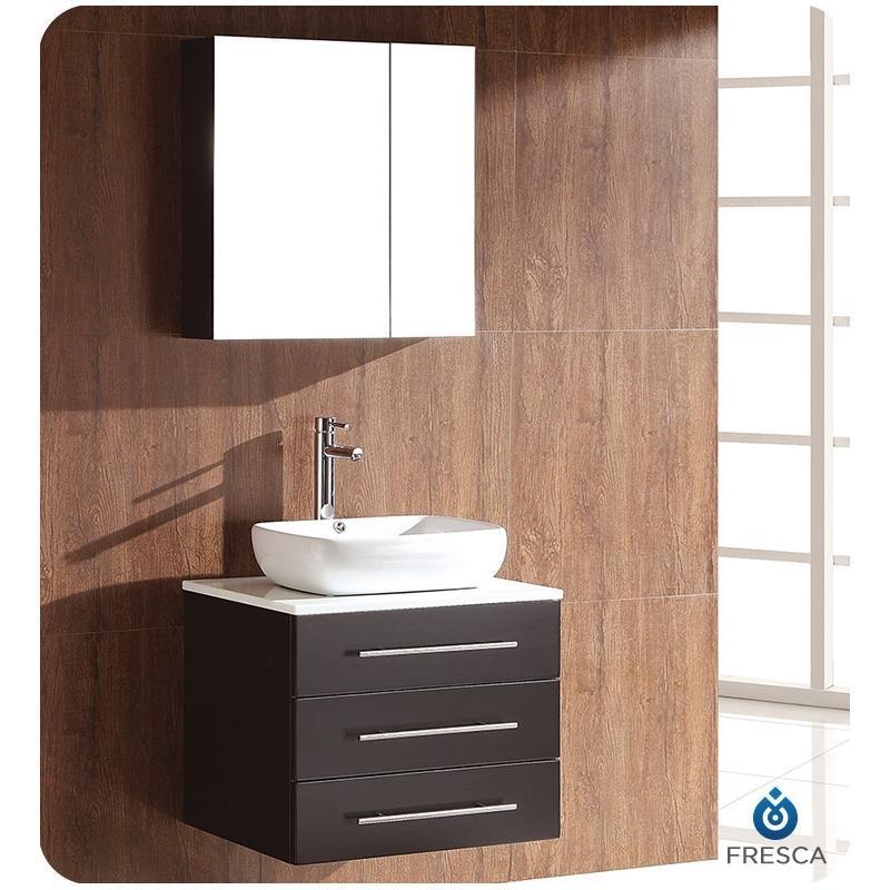 Buy Fresca Modella 24 Bathroom Vanity Set With Medicine Cabinet