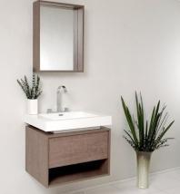 """Potenza 28"""" Bathroom Vanity Set With Pop Open Drawer FVN8070GO"""