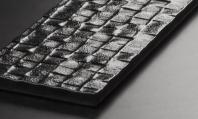 Riz Series Cubica Black Subway Tile