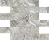 Ottomano 2x6 Argento Mosaic AC63-298