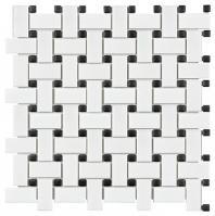 Soho White Matte Basketweave AC51-090