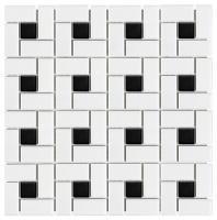 Soho White Matte Pinwheel AC51-085