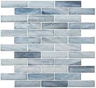 New England Series Backsplash Glass Tile Maritime Blue NWG793