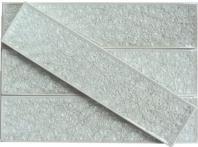 Soho Studio Art Series Brilliant White 2x8 Mosaic Glass Tile ART2X8BRLWT