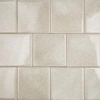 Soho Studio Art Glass Series 4x4 Brilliant White Crushed Glass Backsplash ARTG4X4BRLWHT
