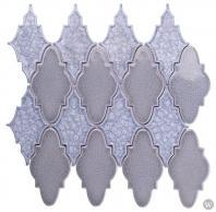Soho Studio Art Glass Sabino Series Blue Sea Crushed Glass Backsplash ARTGSABBLUSEA