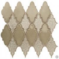 Soho Studio Art Glass Sabino Series Sweet Moss Crushed Glass Backsplash ARTGSABSWTMS