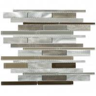 Soho Studio Waterfall Java Aluminum Metal Tile ALUWTRFJAVA
