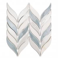 Soho Studio Baroque Floret Series Sky Chevron Tile