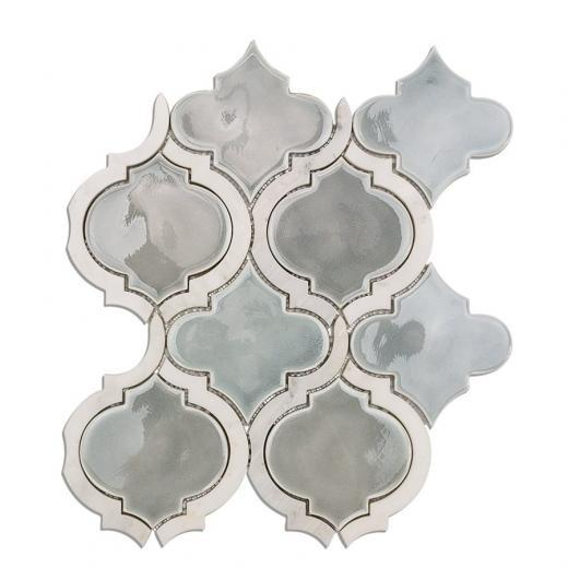 Soho Studio Baroque Lantern Series Sky Arabesque Glass