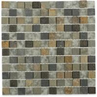 Soho Studio BDA Series Flagstaff 1x1 Mosaic Backsplash