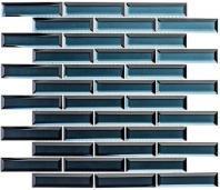 Mystique Series Aruba Sparkle MQS368 1x4 Glass Subway Tile