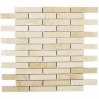 Soho Studio Crema Marfil Series 3/4 x4 Piano Brick Polished Marble Tile