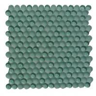 Soho Studio Crystal Series Azores Penny Rounds Glass Tile