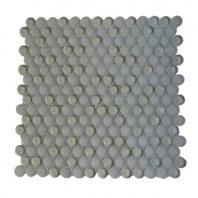 Soho Studio Crystal Series Clay Penny Rounds Glass Backsplash